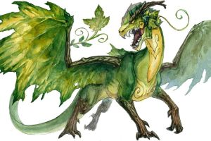 Forest Dragon by Kutty-Sark