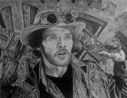 Steampunk Colin by quiltineb