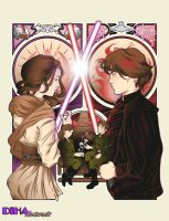 The Sword and The Sith - Limited Color Version by DiHA-Artwork