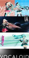Miku and IA 3DS Skin Images by Myth-P