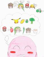 Kirby's Thoughts by Senryu-chan