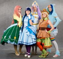My Little Pony cosplay by Asterateya