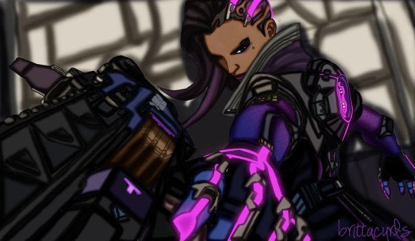 Sombra by brittacurls