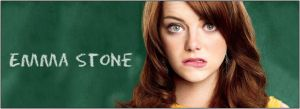 Emma Stone Banner by argantes
