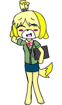 Isabelle by FlareBlitzUp
