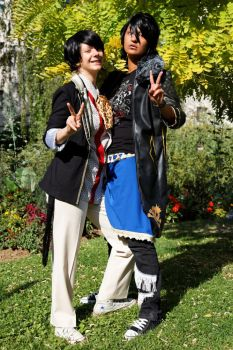 NEWS - Sayaendou Yamapi and Ryo Cosplay by Spinelie