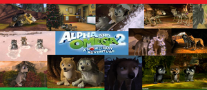 Alpla and Omega 2 A Howl-iday adventure Collage by Sonic2125