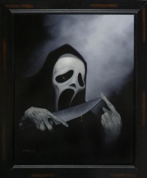 Ghost Face by DH666