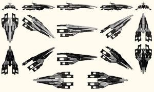 Mass Effect, Normandy SR-1 Reference. by Troodon80