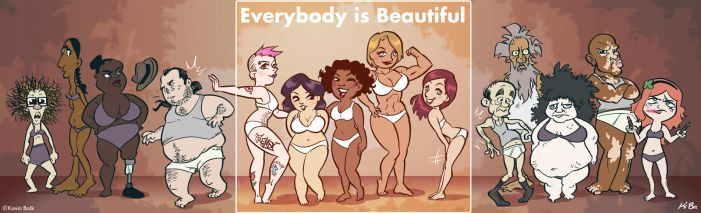 Everybody* Is Beautiful by kevinbolk