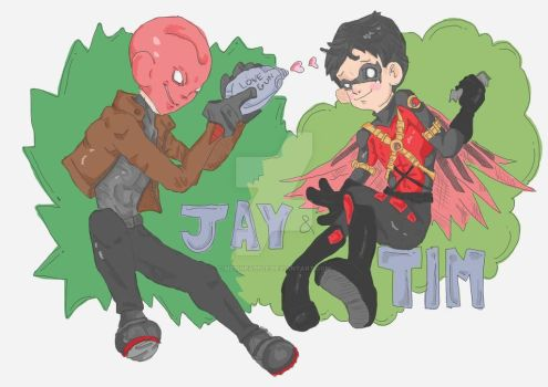Jay and Timmy by MzPineapple