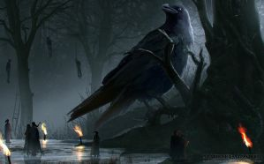 Raven Matriarch by Enthing