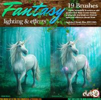 Fantasy Lighting Brush Kit by KeepWaiting