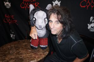 Alice Cooper and 'Night Terror' Pony Plush by Tori-to-Pelloneus