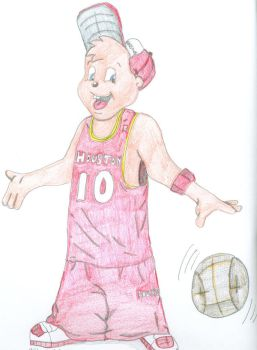 Alivn and the Houston Rockets by skyvolt2000