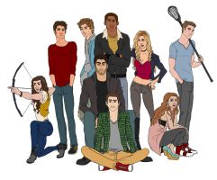 Beacon Hills Pack by rhymeswithmonth