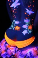 Blacklight Body Paint by OnCallArtistry