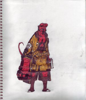 New hellboy by endrom