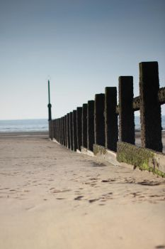 Beach -  Rhyl, North Wales by Terror-Inferno