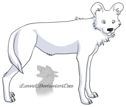 Lineart favourites by dogofthemillitary on deviantart for African wild dog coloring pages