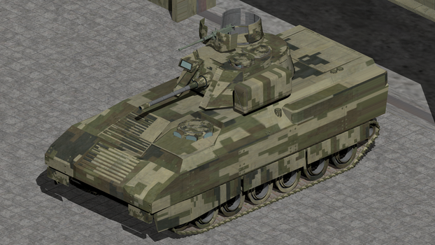 M-5 Infantry Fighting Vehicle by wbyrd
