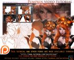 pumpkin elf video tutorial pack.promo. by sakimichan
