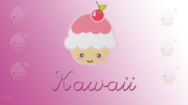 Wallpaper Kawaii by PaoEditions