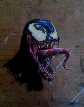 something scary on my drawing board by predatorarjun
