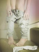 Ooops Jeans Fall Down by Foxy-Feet
