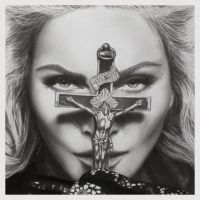 Madonna I by joannewhiteart