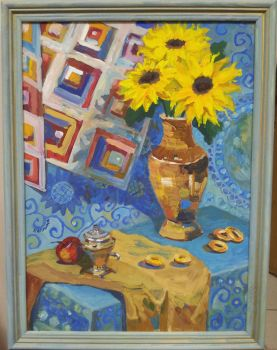 Sunflowers by Luzblanca