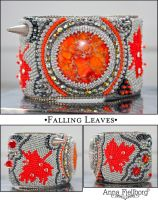 Cuff: Falling Leaves by annafjellborg