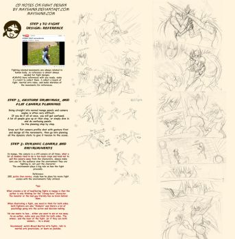 How to draw action fight scene by mayshing