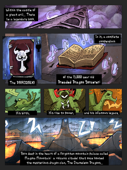 Rise of the Dreaded Dragon Sorcerer-pg.1 by TheUnisonReturns