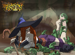 Dragon's Crown Sorceress Tickled by PawFeather