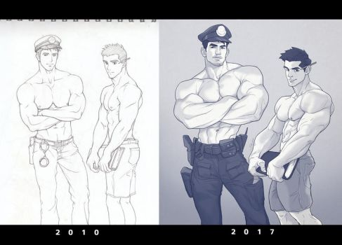 Hunk of the week #40 by silverjow