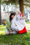 Sesshomaru and Rin  by NoraChaosCookiie