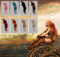 Casual #6 HAIR STOCK by Trisste-stocks