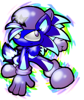 Neptune The Pre-Elite Sonic Chao by NeppyNeptune