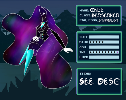 IV: Cell by InvaderCristi