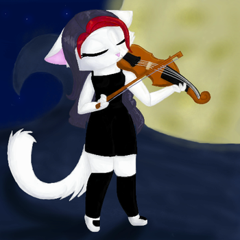 .:The Violinist:. by Khadyah3