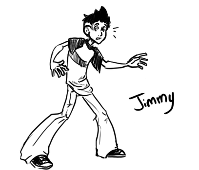 Jimmy Sketch by candiedfool
