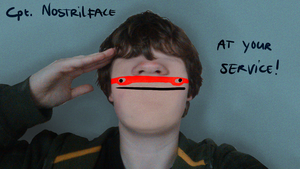 Cpt. Nostrilface by gamertjecool