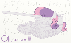 Sweetie Belle - AMX 105AM by AlVchFokarev