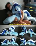 Life size (laying down) Colgate/Minuette plush by agatrix