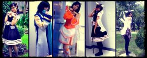 5 in 1 Cosplay Picture by patden09