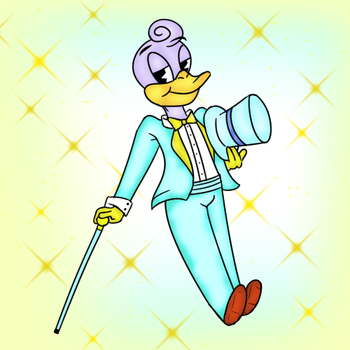 Lucky Bon Bon Quack the Third by Lady-With-A--K