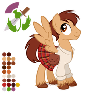 Reference Sheet: Jamie McCrimmon by LissyStrata