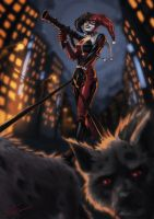 Harley Quinn by toherrys