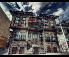 Curtains Closed HDR by ISIK5
